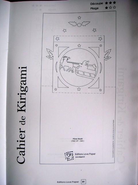 Kirigami Gratuit A Imprimer Noel Kirigami Kirigamiza Joyeux Noël Et